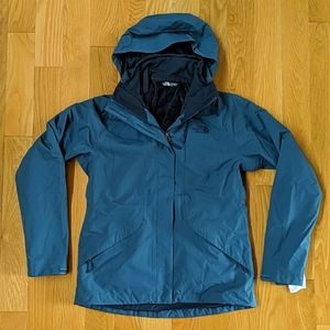 The North Face Boundary Triclimate Womens S/M Blue